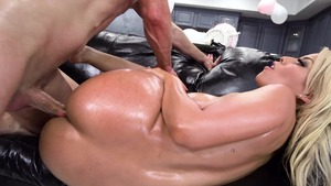 brothers double penetrate mom